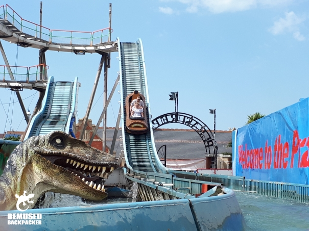 Barry Island Wales Gavin and Stacey Log Flume