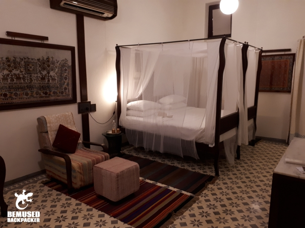 bedroom at the House of MG Ahmedabad