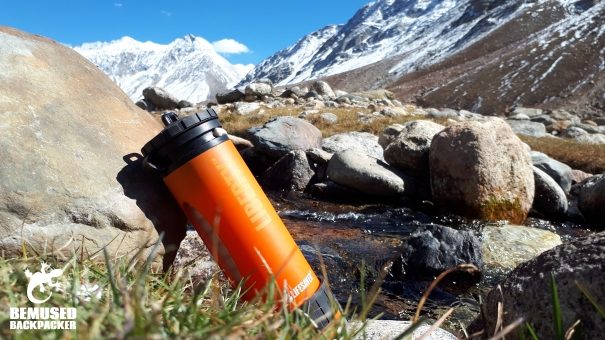 Lifesaver Liberty Water Filter Bottle Review Close Up