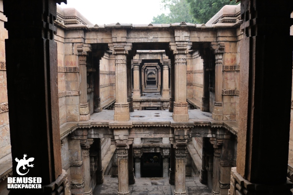 Ahmedabad India Dada Harir Step Well.