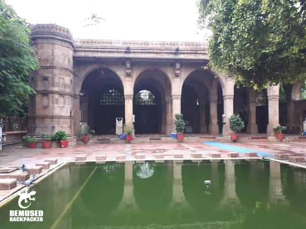 Ahmedabad India Sidi Sayed Mosque