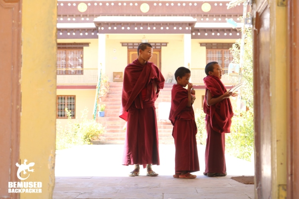 Himalaya Road Trip Buddhists in Monastery