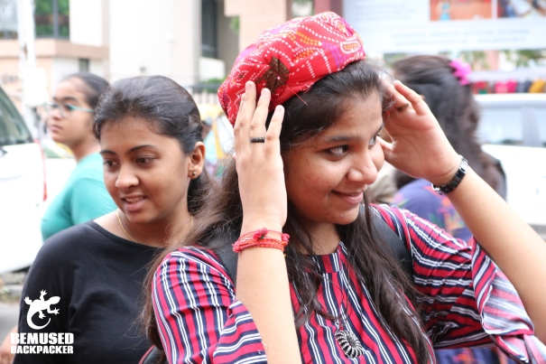 India Gujurat Navratri young girl