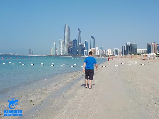 Michael Huxley Cornich Beach Abu Dhabi