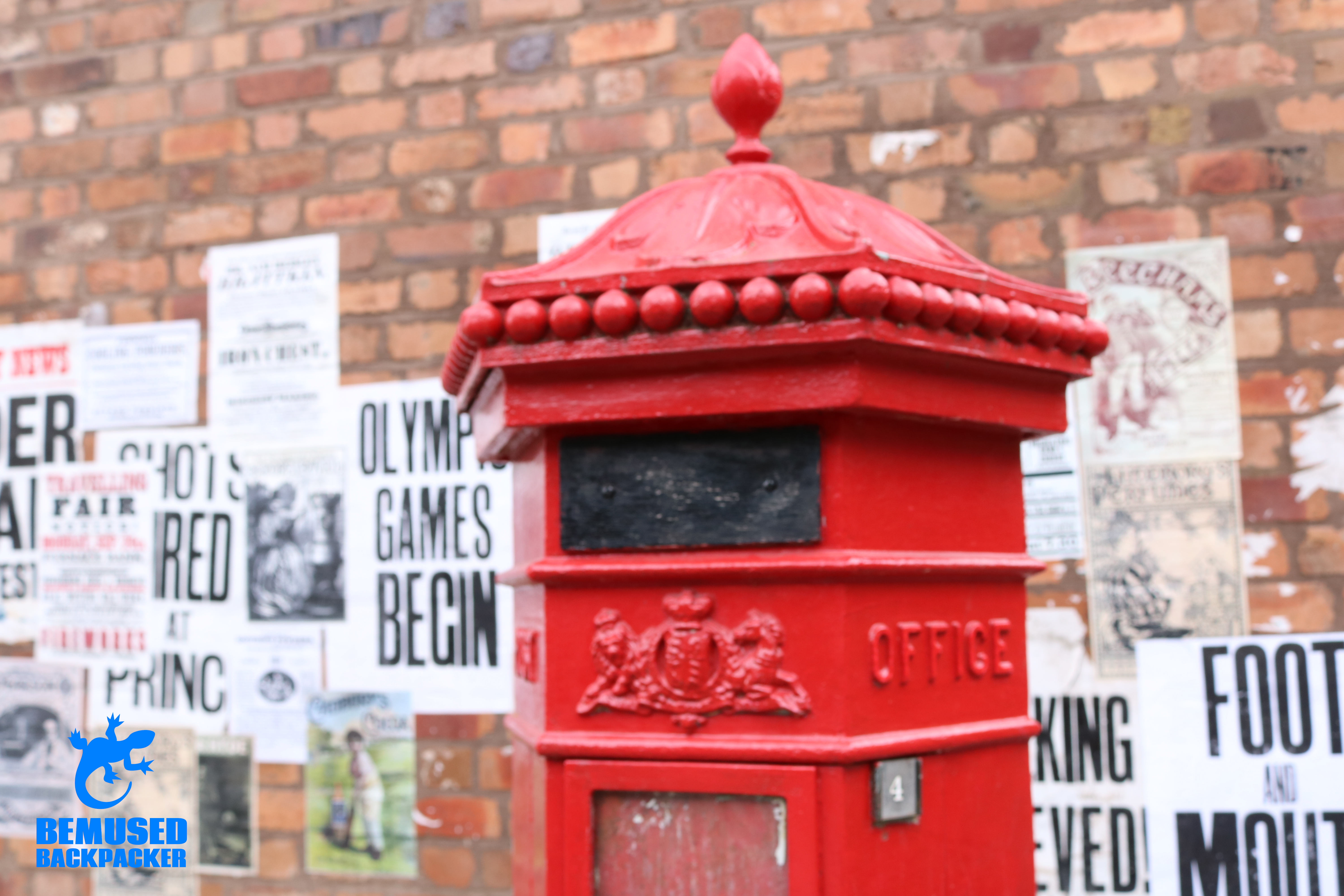 Blists Hill Victorian Town Iron Gorge Post Box